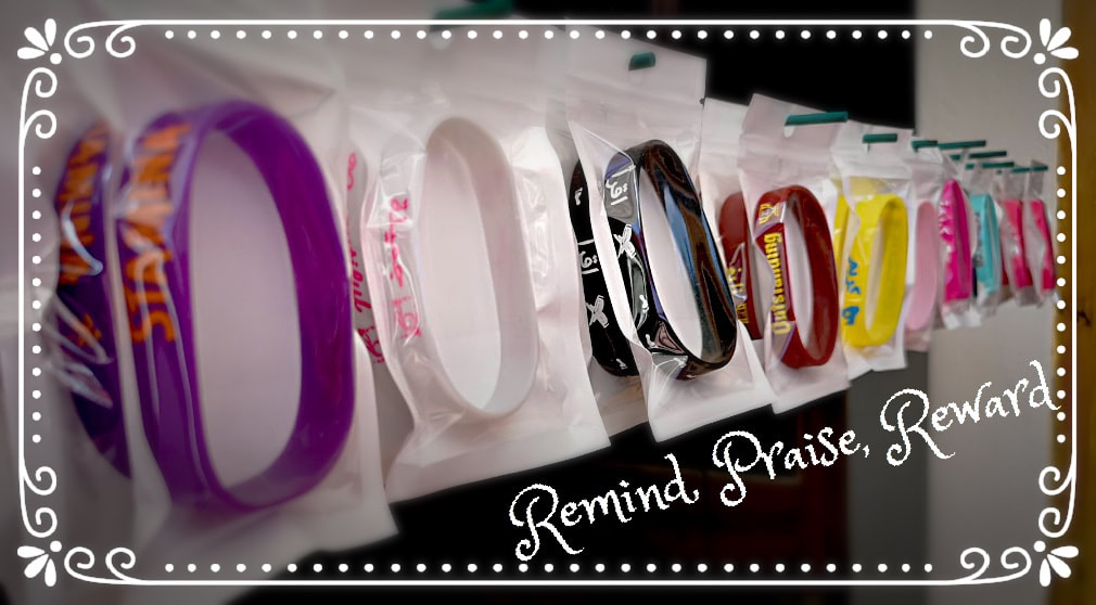 ADaBi wristbands for kids, Remind, Praise, Reward, ADaBi gifts, ADaBi books, ADaBi rewards, reminders, morals, manners