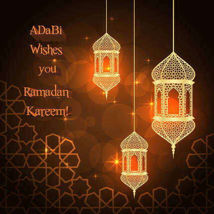 Infographic, Ramadan greetings ADaBi Publishing House